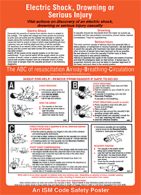 ISM-J09 Electric Shock / Drowning or Serious Injury