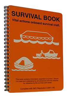 ISM-J1601 Lifeboat survival booklet IMO A.657(16)