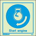 5503C - Jalite start engine Sign - IMPA Code: 33.5102 - ISSA Code: 47.551.02