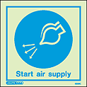 5509C - Jalite start air supply Sign - IMPA Code: 33.5108 - ISSA Code: 47.551.08