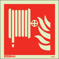 6420C - Jalite Fire Hose Location Sign - IMPA Code: 33.6101 - ISSA Code: 47.561.02