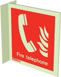 6451FS15 - Jalite Fire Telephone Location Sign