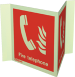 6451P15 - Jalite Fire Telephone Location Sign
