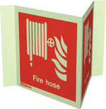 6495P15 - Jalite Fire Hose Location Sign