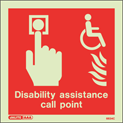 6634C - Jalite Disability assistance call point