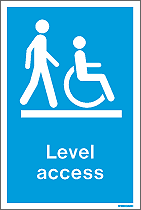 WX9004DD - Jalite Level Access Sign