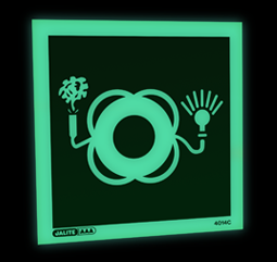4014C Jalite Lifebuoy with smoke & light
